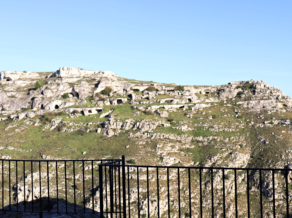 camere con vista nei Sassi di Matera
