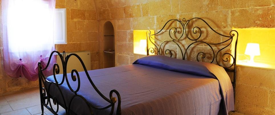 la camera campanile del b&b nei Sassi di Matera